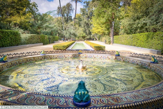 Great green spaces, Seville, Andalusia, Spain