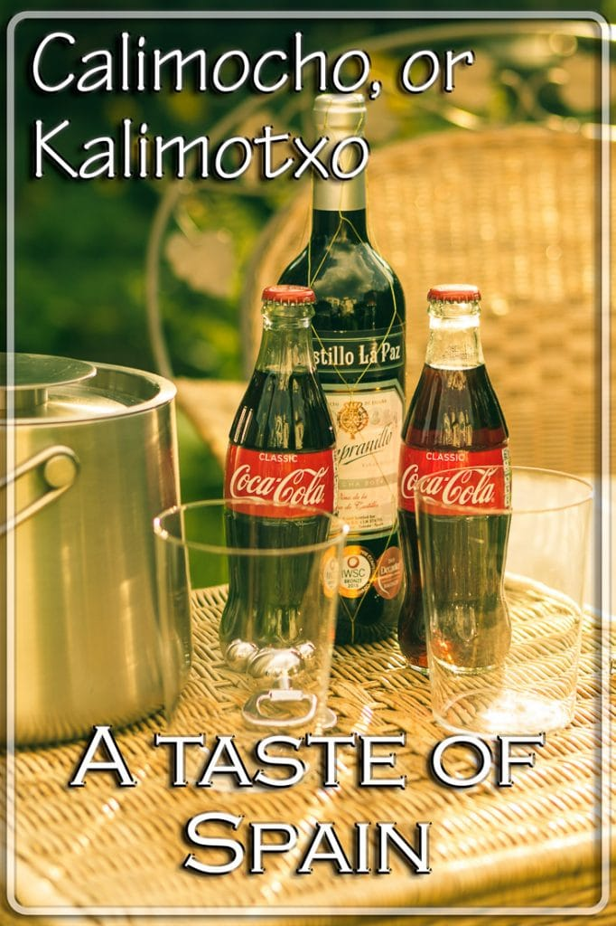 Kalimotxo or Calimocho - The basic ingredients