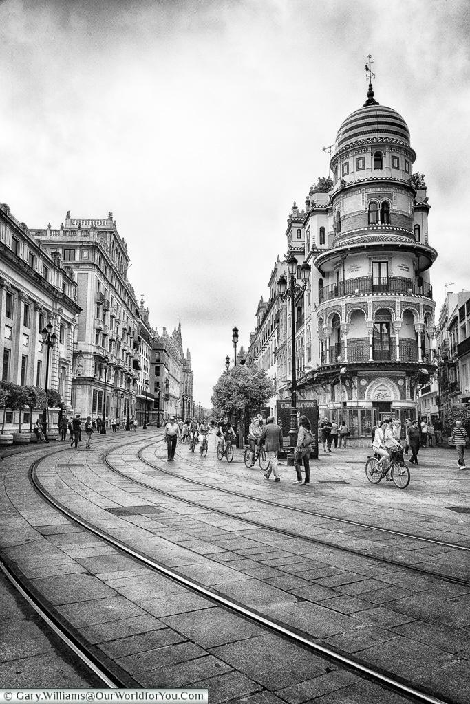 La Adriática, Seville, Andalusia, Spain