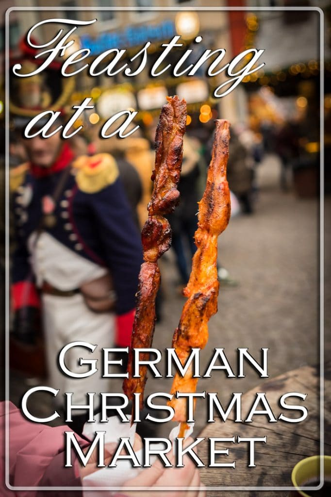 Feasting at a German Christmas Market