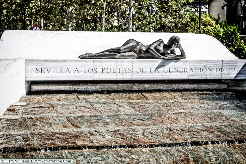 Monument to the Generation of 27, Seville, Andalusia, Spain