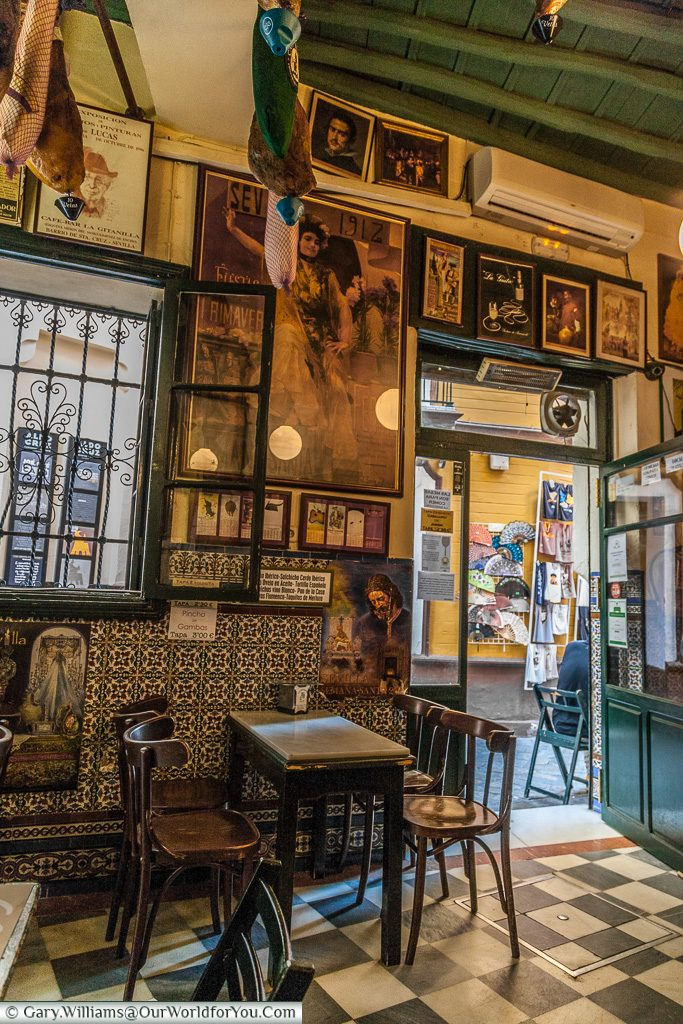Our favourite bar, Seville, Andalusia, Spain