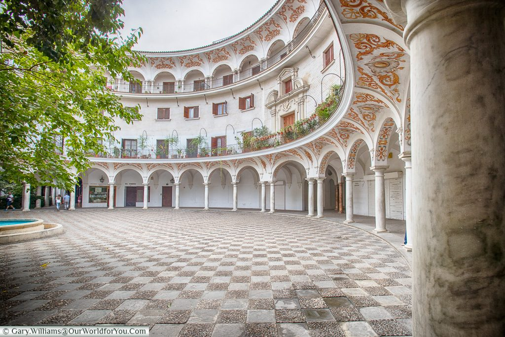Plaza del Cabildo, Seville, Andalusia, Spain