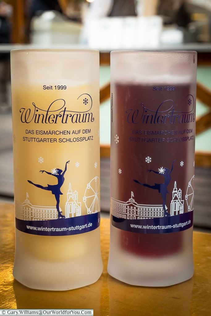 Refreshments by the ice rink, Stuttgart, Germany