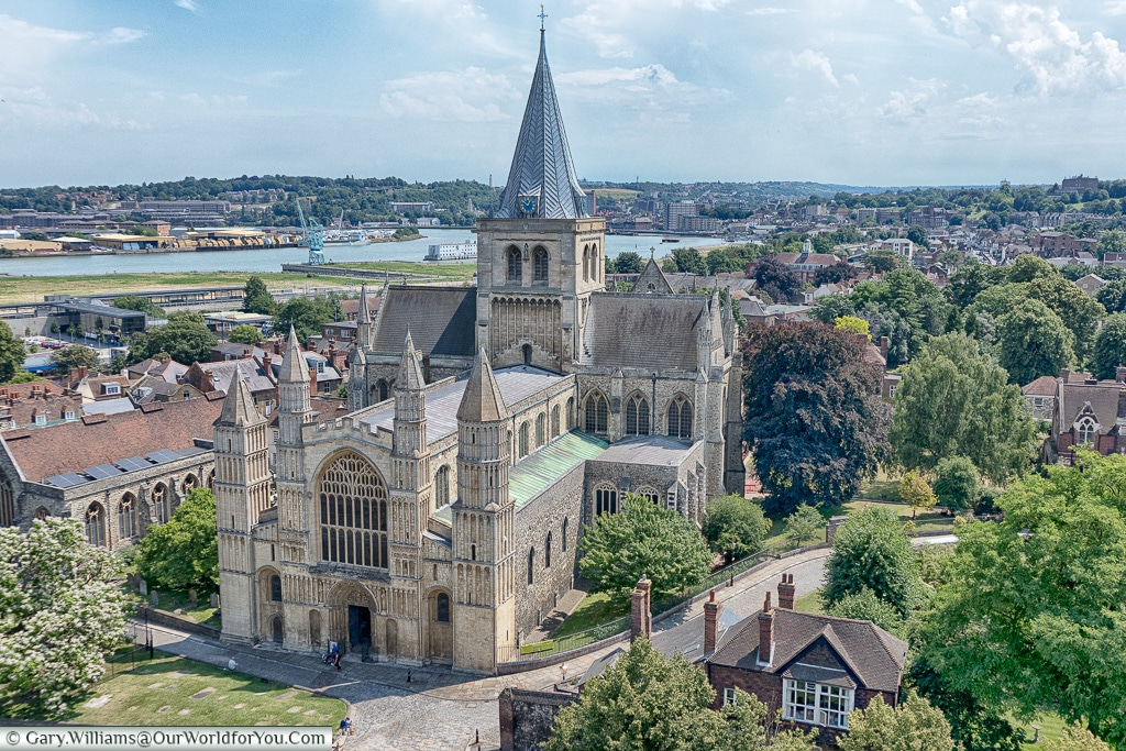 Rochester Cathedral, Rochester, Kent, England, UK