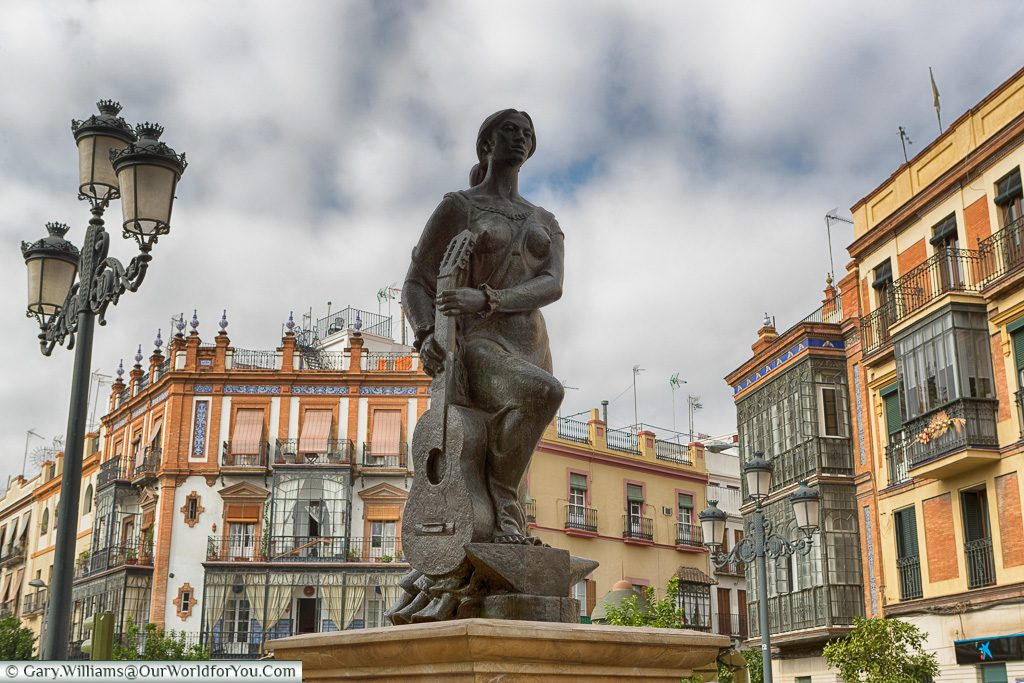 Welcome to Triana, Seville, Andalusia, Spain