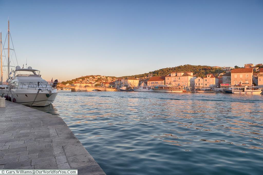 Across the water, Trogir, Croatia
