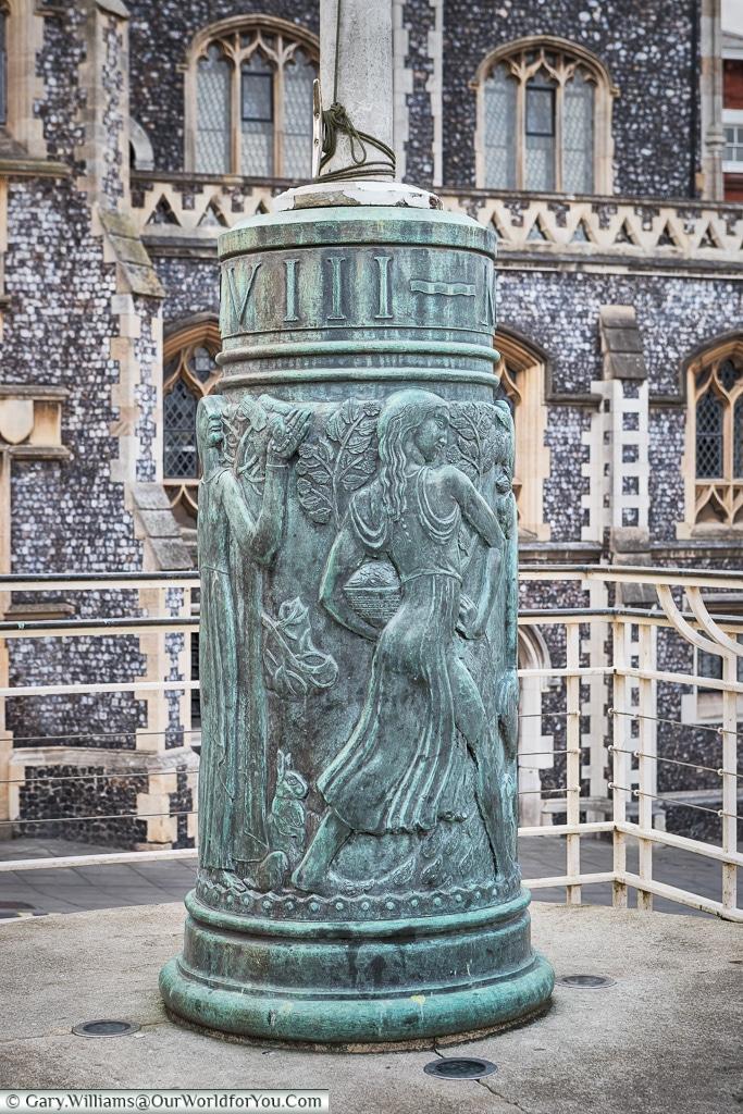 Beautiful detail, Norwich, Norfolk, England