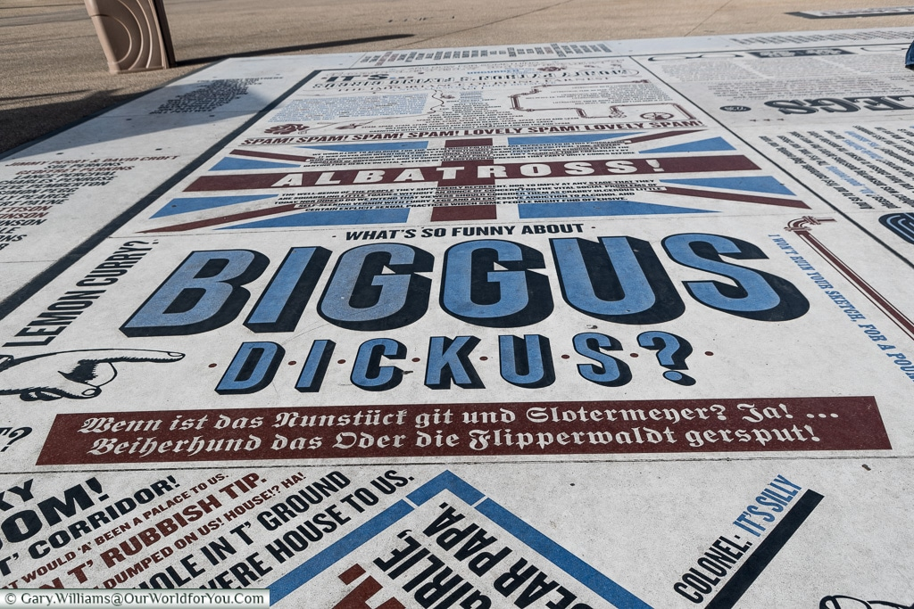 Biggus Dickus, Blackpool, Lancashire, England, UK