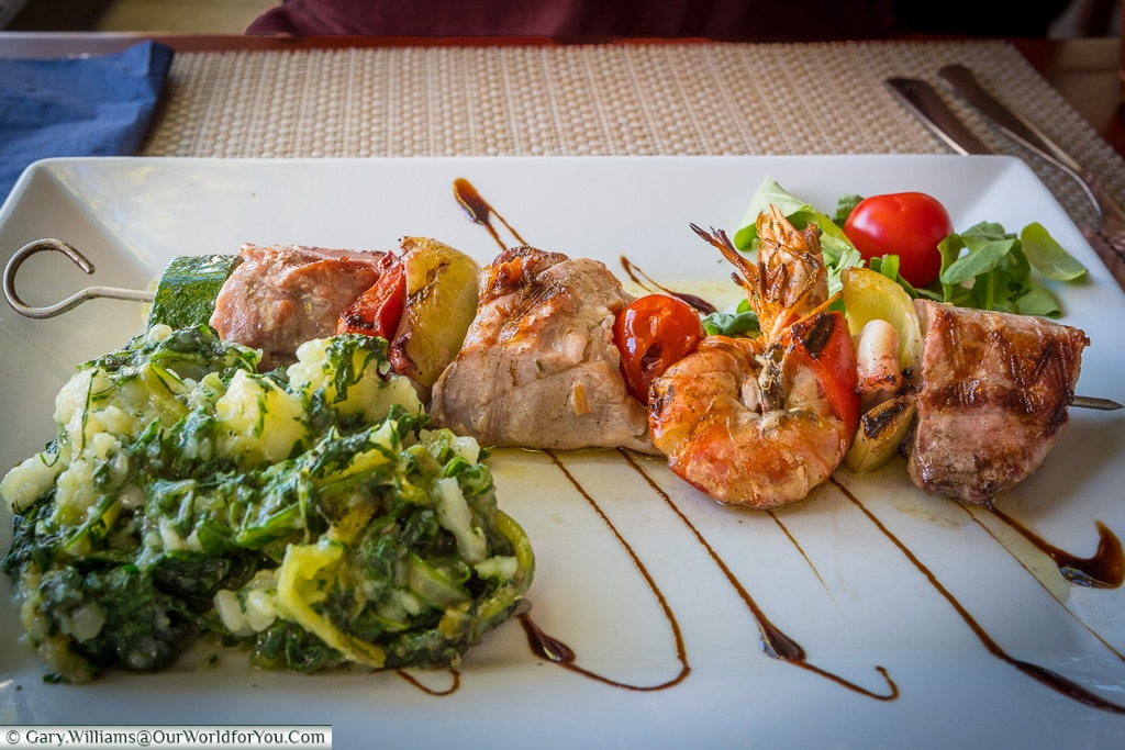 Fish Skewer, Zadar, Croatia