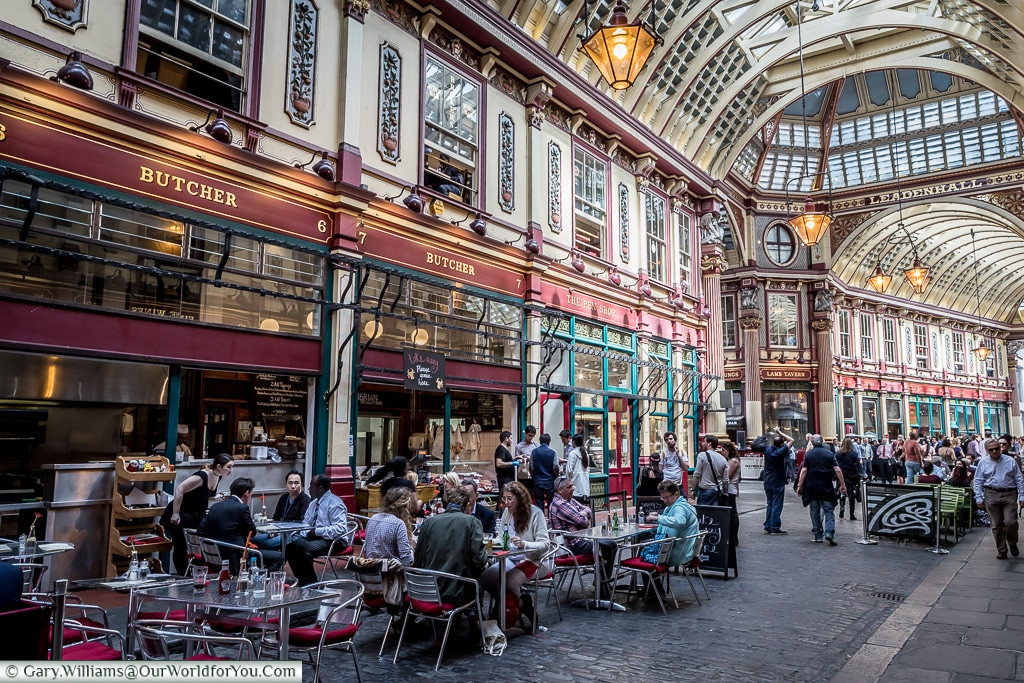 Leadenhall Market, City of London, London, England, UK