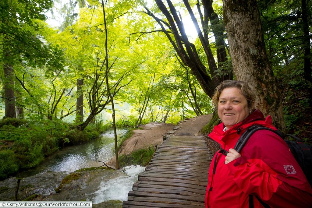 Leading the way, Plitvice Lakes, Croatia