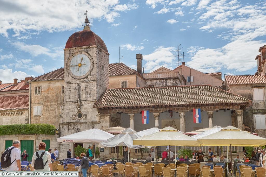 Loggia di Trogir, Trogir, Croatia