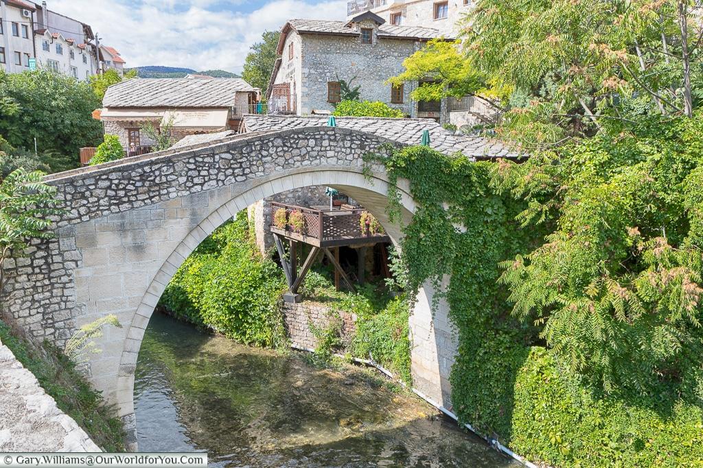 The Crooked Bridge, Mostar, Bosnia and Herzegovina