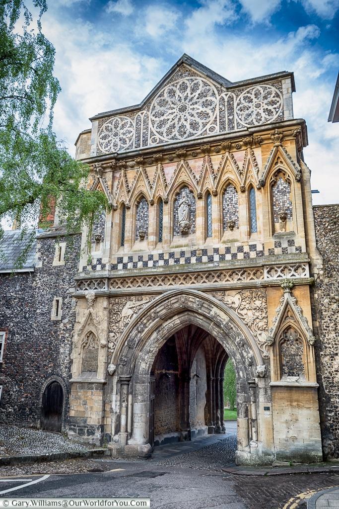 The Ethelbert Gate, Norwich, Norfolk, England