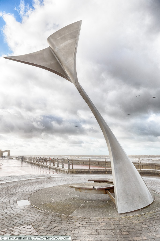 The Swivelling Wind Shelters, Blackpool, Lancashire, England, UK