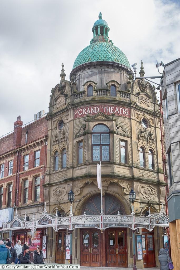 The Grand Theatre, Blackpool, Lancashire, England, UK