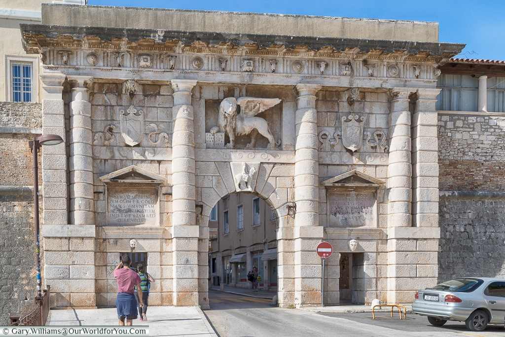 The Land Gate, Zadar, Croatia
