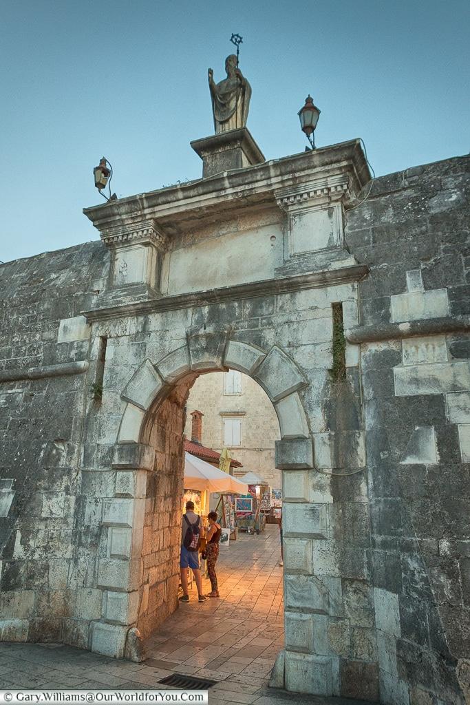 The North Gate, Trogir, Croatia