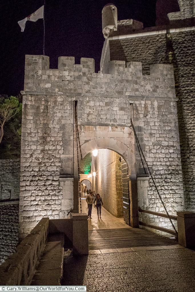 The Ploce Gate, Dubrovnik, Croatia