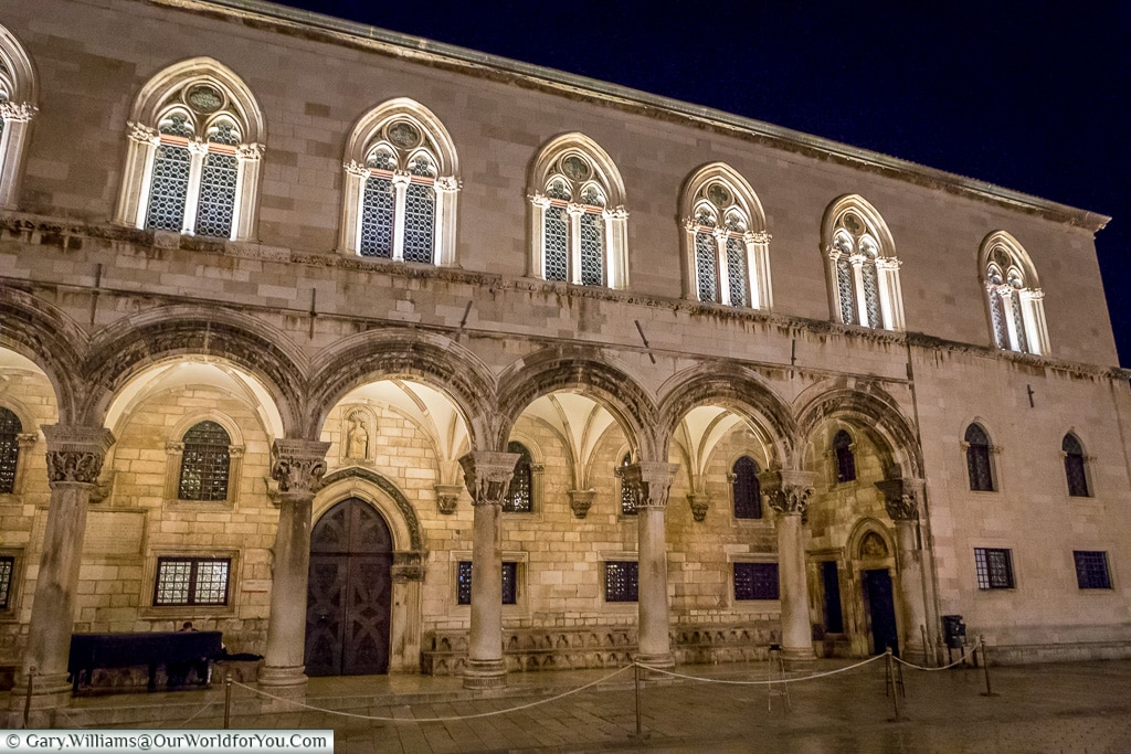 The Rector's Palace, Dubrovnik, Croatia