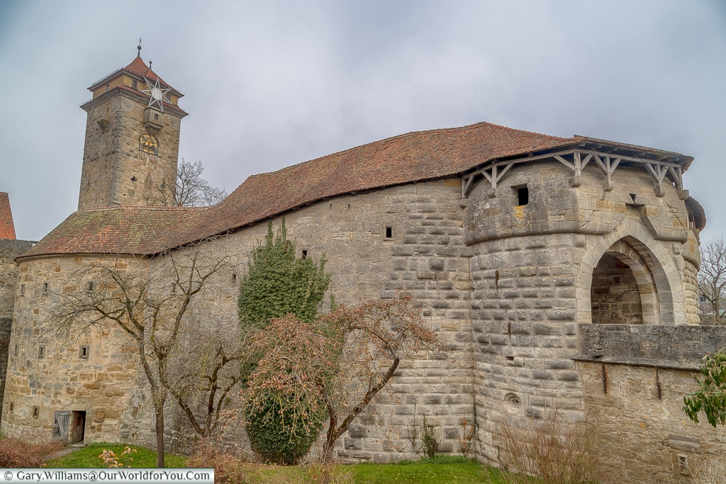 The Spital Bastion and Gate, Rothenburg ob der Tauber, Germany