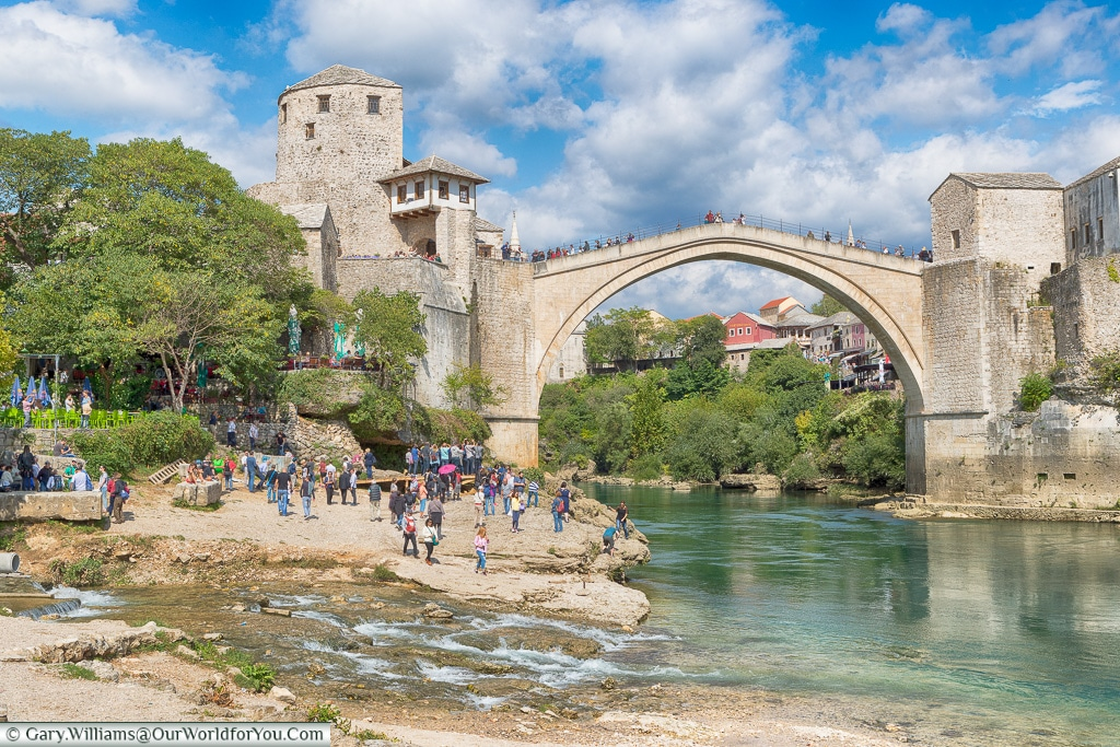 The amazing Stari Most, Mostar, Bosnia and Herzegovina