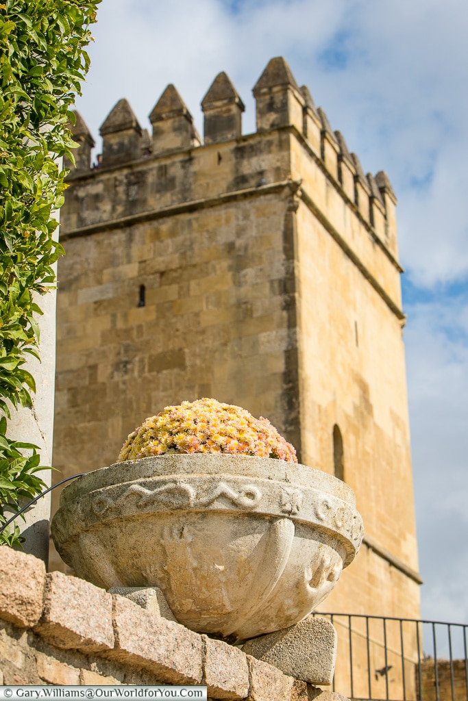 The Tower of Lions, Alcázar de los Reyes Cristianos, Cordoba, Córdoba, Spain