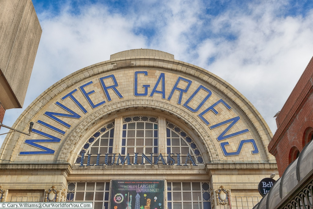 The Winter Gardens, Blackpool, Lancashire, England, UK