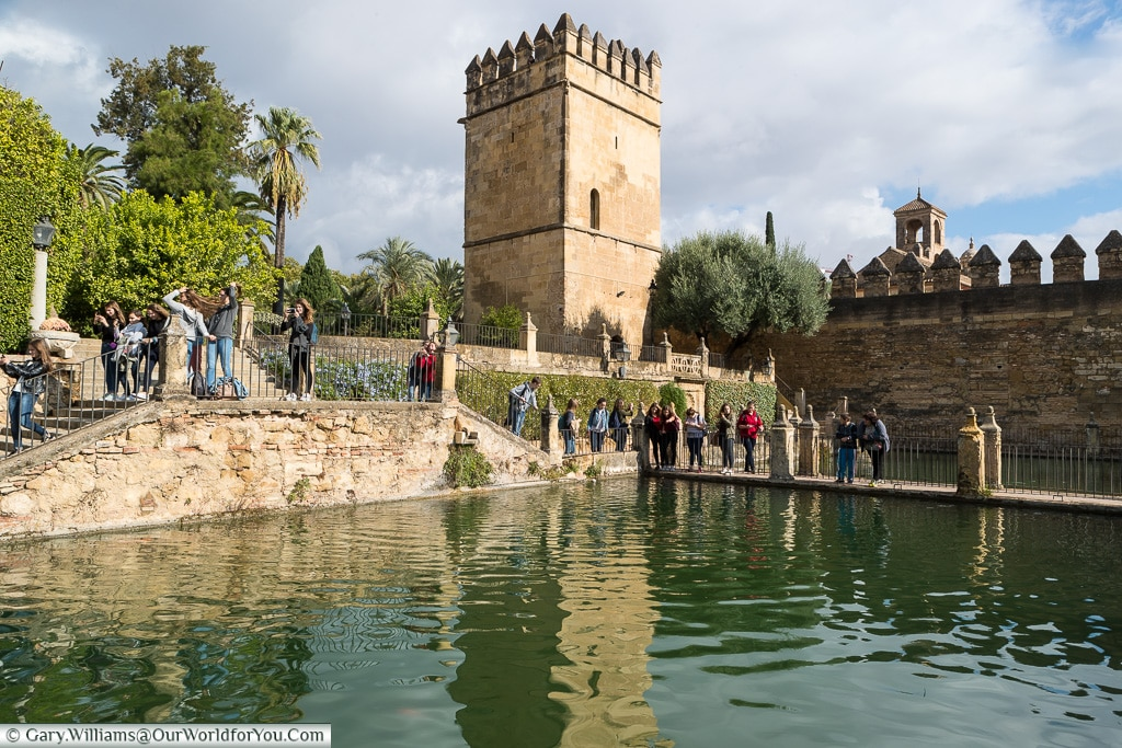 The tower, Alcázar de los Reyes Cristianos, Cordoba, Córdoba, Spain
