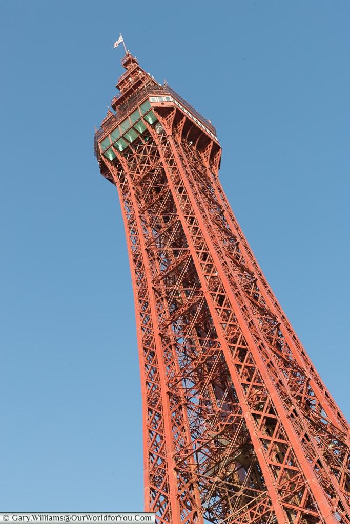 The mighty Blackpool Tower, Blackpool, Lancashire, England, UK