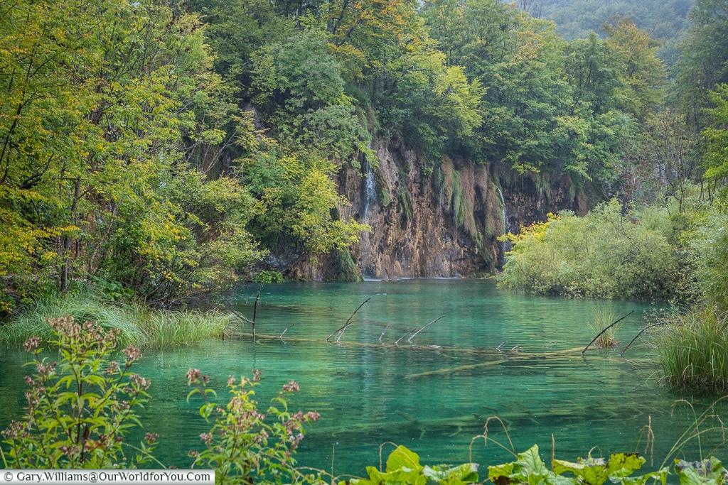 The opal waters, Plitvice Lakes, Croatia