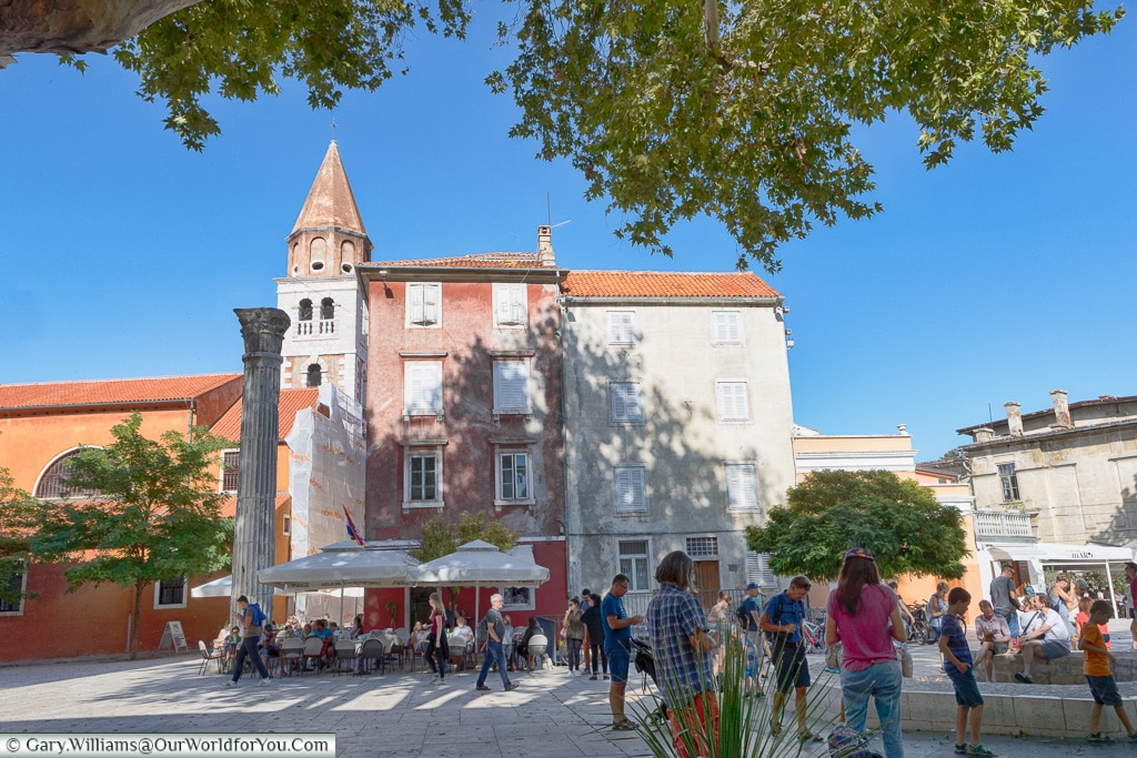 The quaint Old Town, Zadar, Croatia