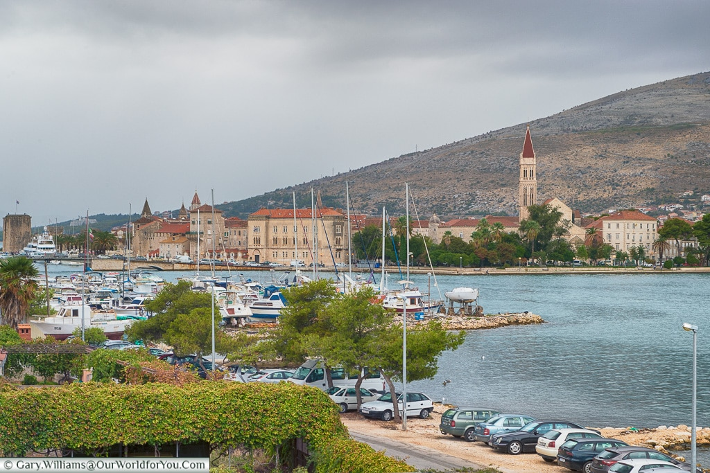 The view from the apartment, Trogir, Croatia
