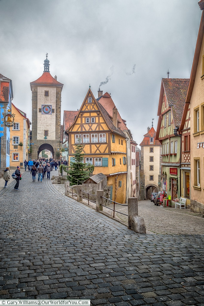 That view again, Rothenburg ob der Tauber, Germany