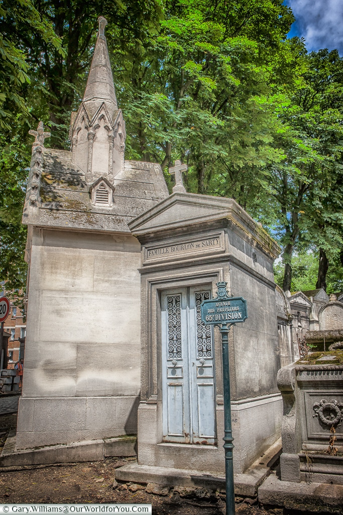At the Entrance, Père Lachaise Cemetery, Paris, France