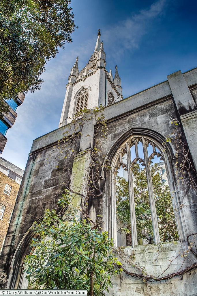 St Dunstan's-in-the-East, City of London, London, England, UK