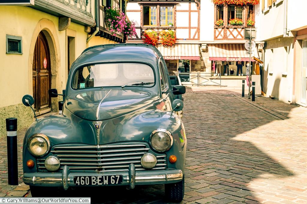 Historic France, Obernai, Alsace, France