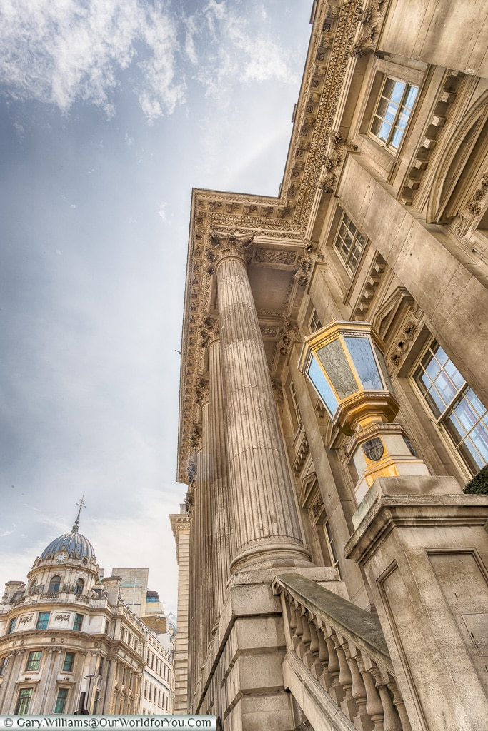 Mansion House, City of London, London, England, UK