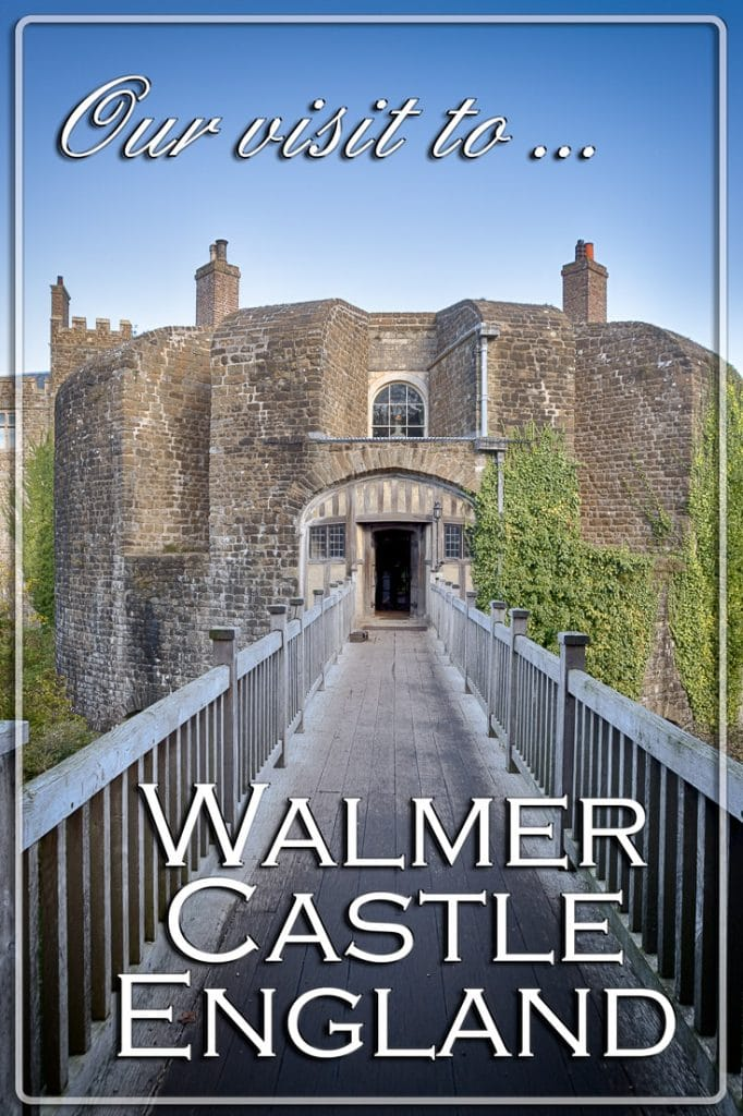 Our Visit to Walmer Castle, Walmer, Kent, England, UK