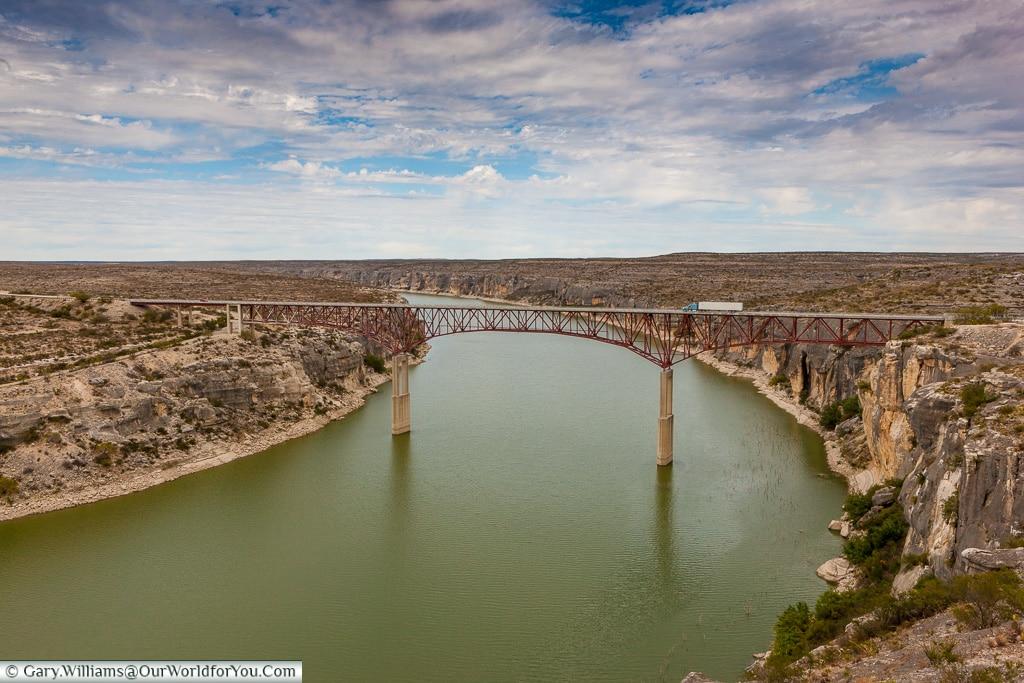 Pecos River Bridge, Texas, America, USA