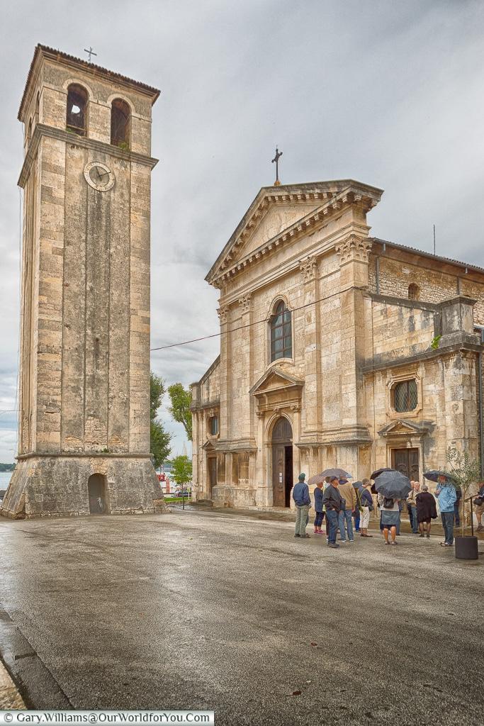 Pula Cathedral,Pula, Croatia