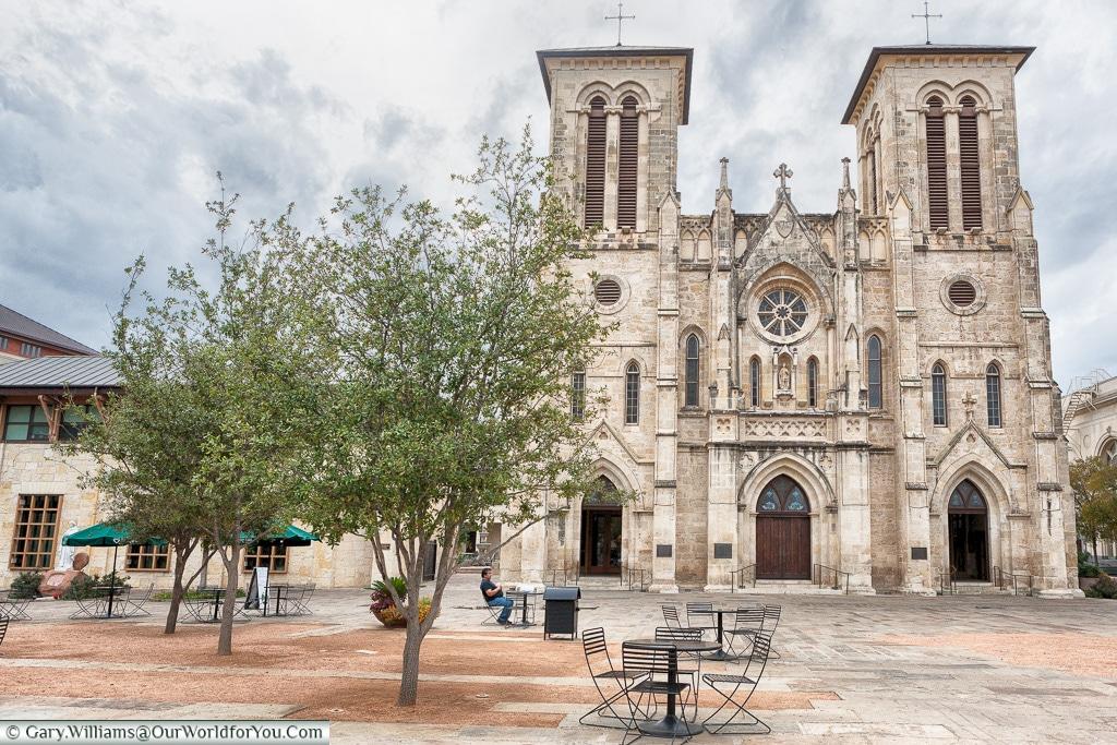 San Fernando Cathedral, San, Antonio, Texas, America, USA