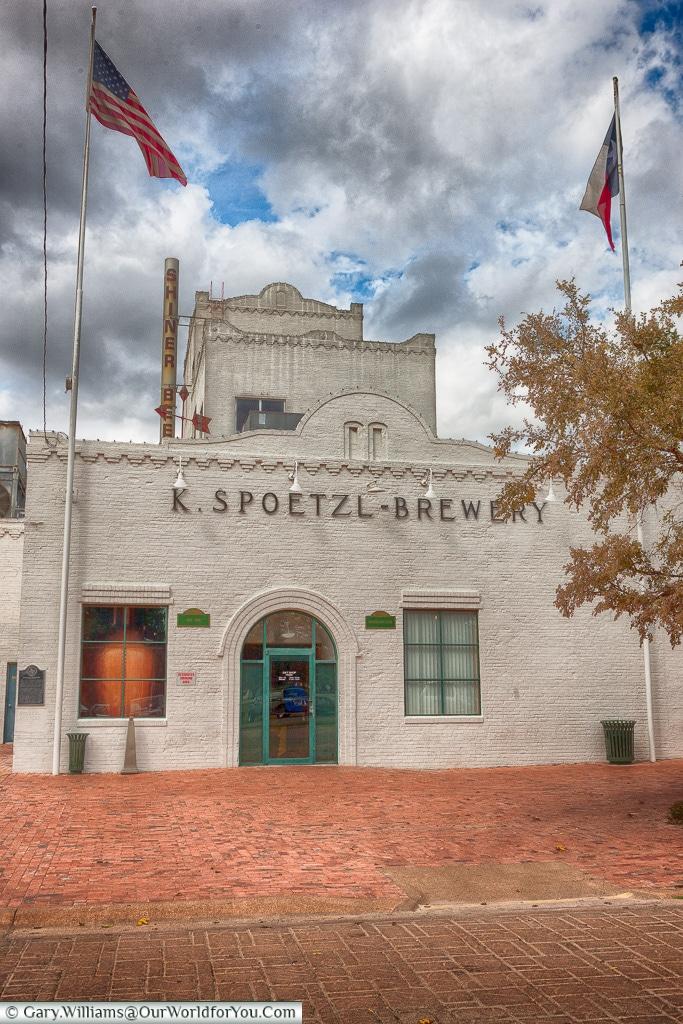 Spoetzl Brewery, Shiner, Texas, America, USA