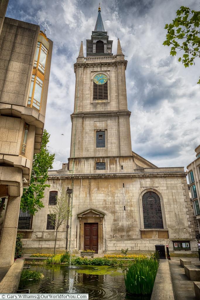 St Lawrence Jewry, City of London, London, England, UK