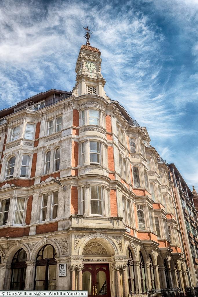 Temple House, City of London, London, England, UK