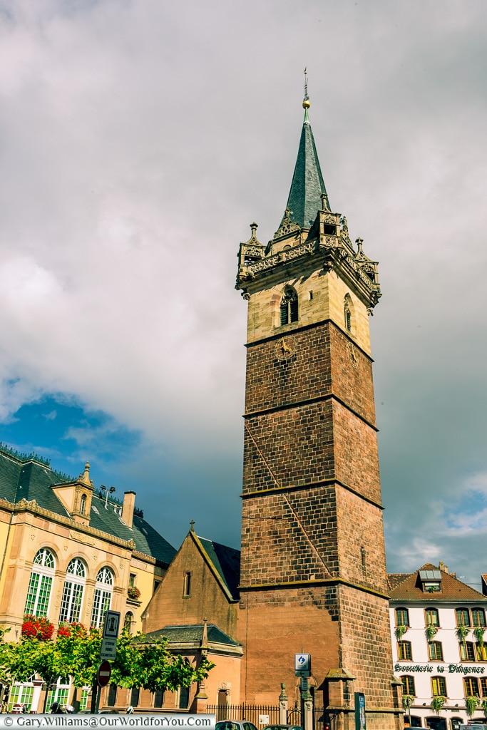 The Belfry, Obernai, Alsace, France