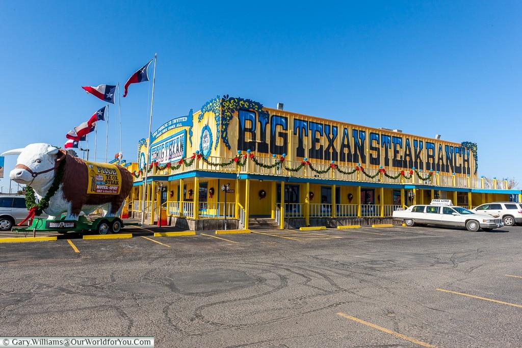 The Big Texas Steak Ranch, Amarillo, Texas, America, USA