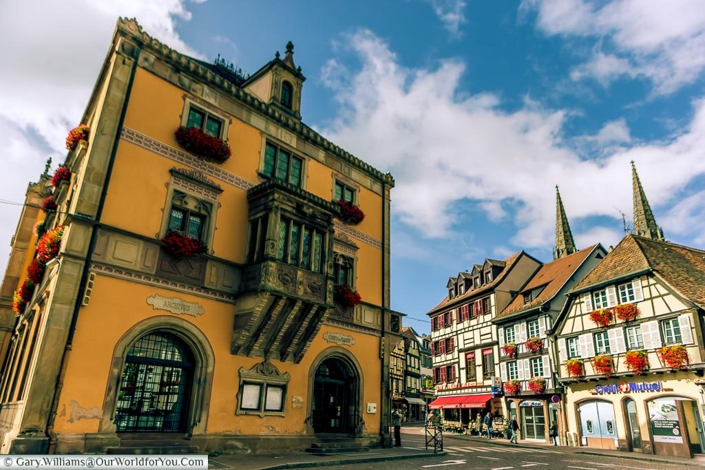 The Hotel du Ville, Obernai, Alsace, France