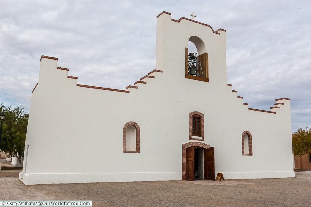 The Socorro Mission, Texas, America, USA
